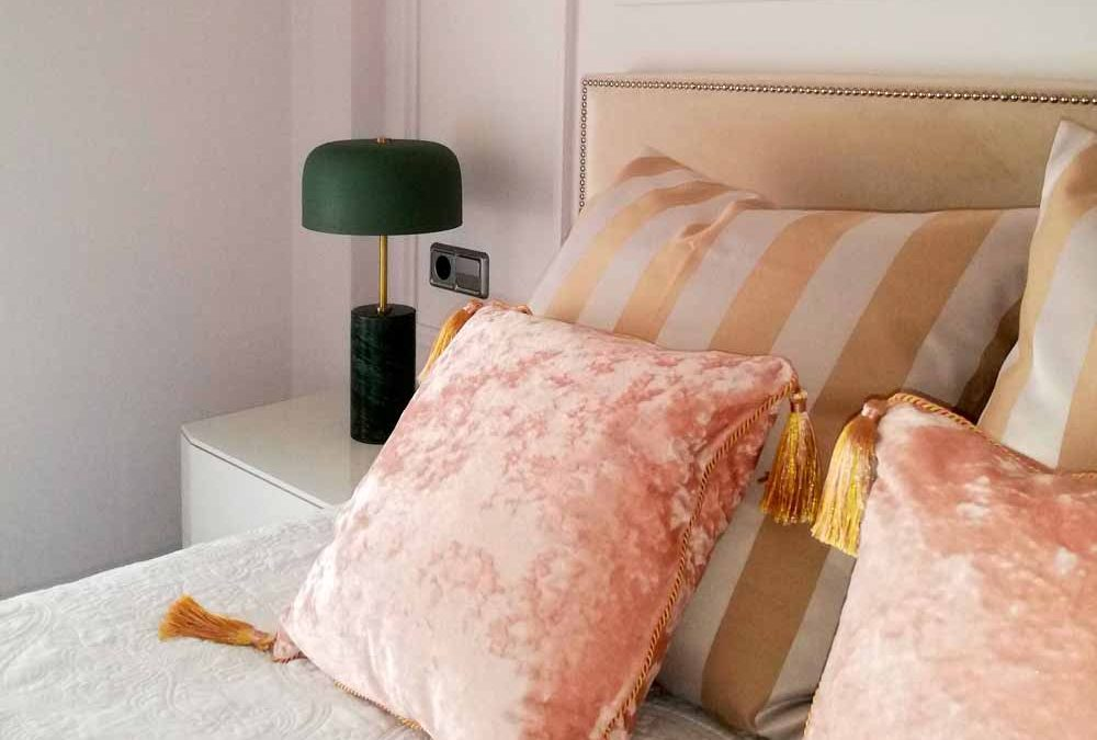Dormitorio clásico chic